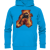Football Fire Kids Kinder Hoodie