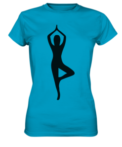 Yoga Ladies Frauen Shirt T-Shirt